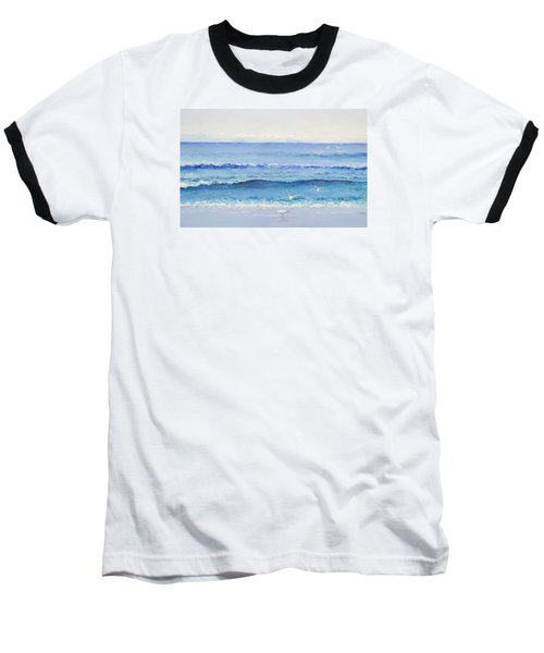 Summer Seascape Baseball T-Shirt