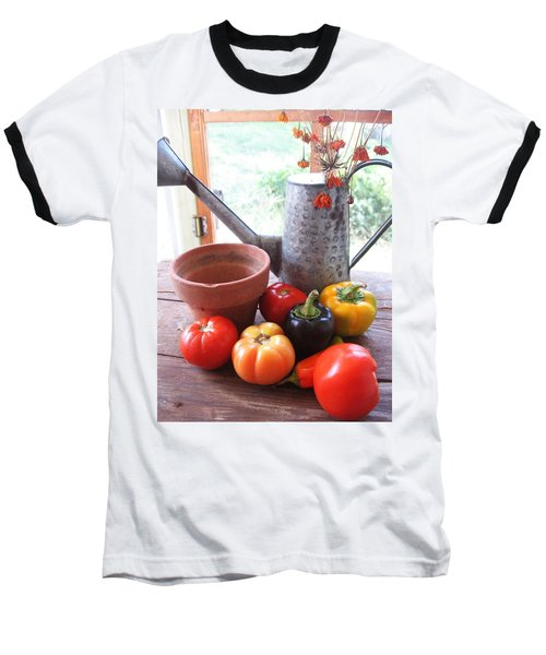 Summer's Bounty   Baseball T-Shirt