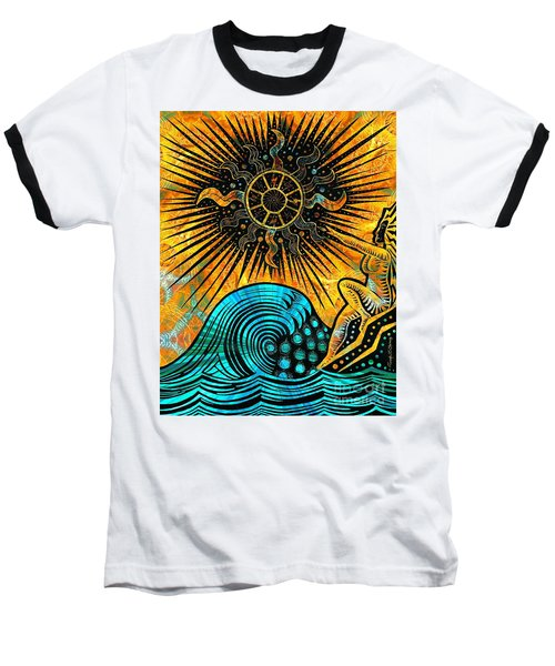 Big Sur Sun Goddess Baseball T-Shirt