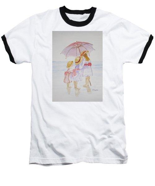 Sunday Best At The Beach Baseball T-Shirt by Elvira Ingram