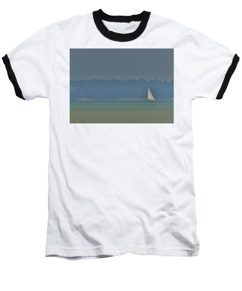 Sunday Sailing  Baseball T-Shirt by Daniel Thompson