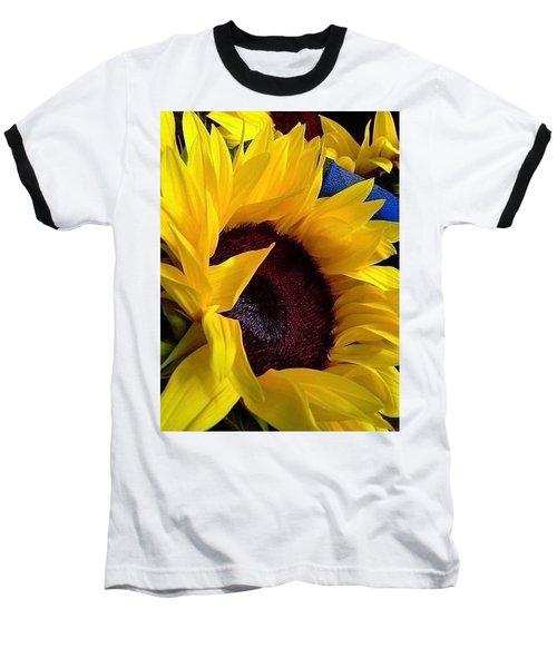 Sunflower Sunny Yellow In New Orleans Louisiana Baseball T-Shirt