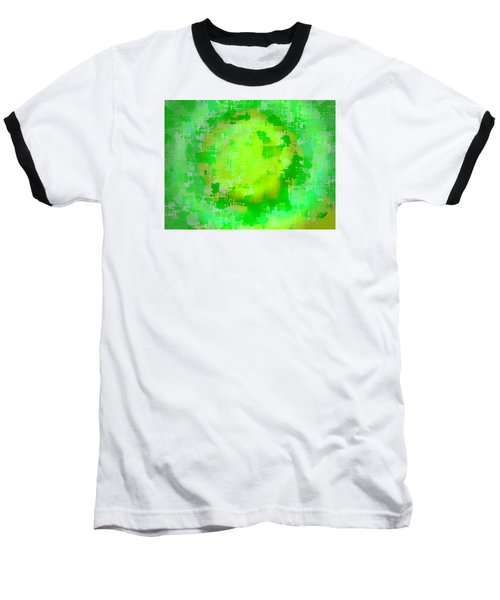 Original Abstract Art Painting Sunlight In The Trees  Baseball T-Shirt