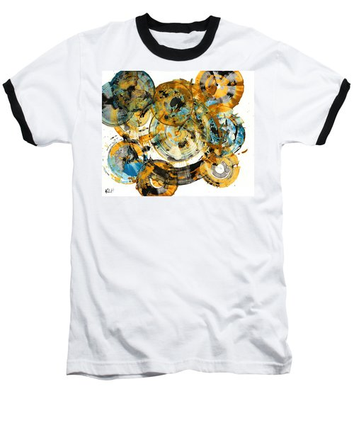 Baseball T-Shirt featuring the painting Sunrise - 991.042212 by Kris Haas