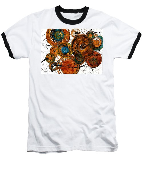 Baseball T-Shirt featuring the painting Sunset - 1274.121412 by Kris Haas