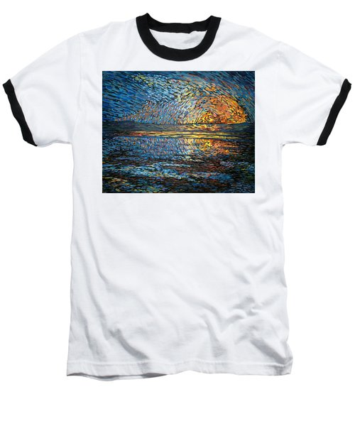 Sunset Before The Storm Baseball T-Shirt