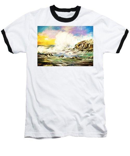 Sunset Breakers Baseball T-Shirt