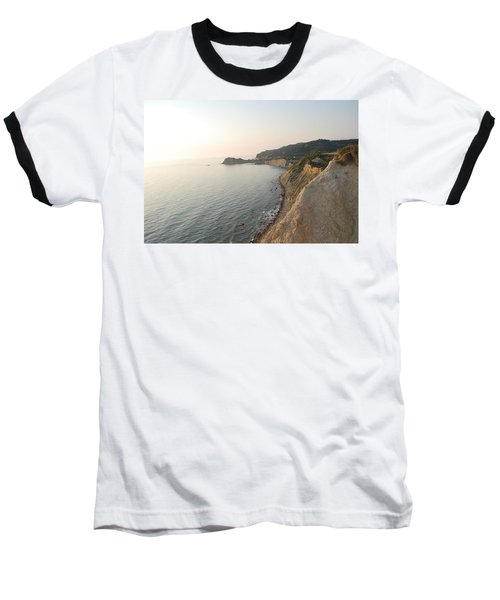 Baseball T-Shirt featuring the photograph Sunset Gourna by George Katechis