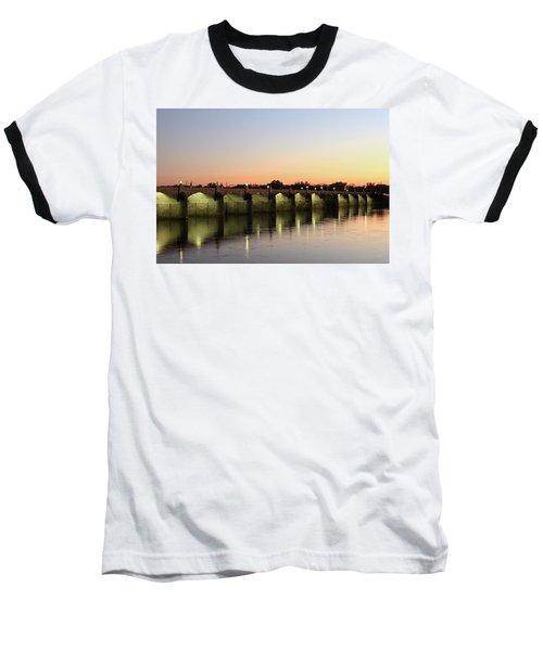 Sunset Hues Baseball T-Shirt