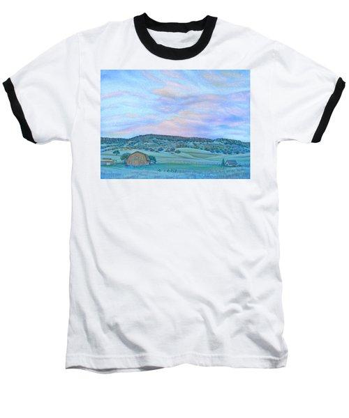 Sunset Over Table Mountain Baseball T-Shirt