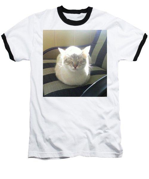 Sunshine Kitty Baseball T-Shirt