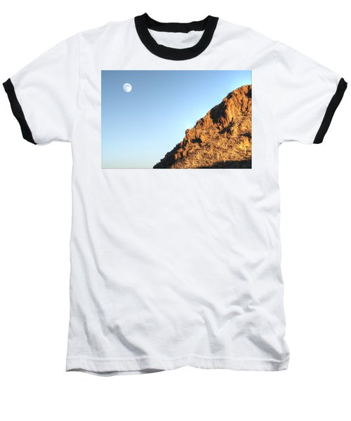 Baseball T-Shirt featuring the photograph Superstition Mountain by Lynn Geoffroy