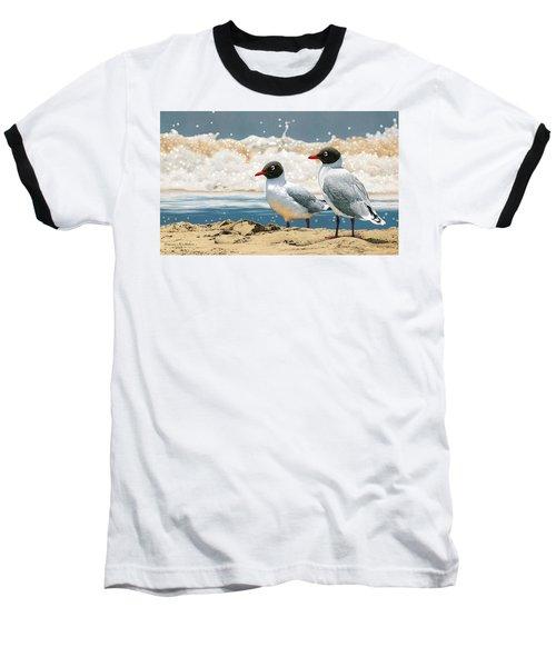 Surf 'n' Turf - Franklin's Gulls Baseball T-Shirt