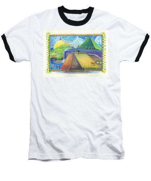 Surreal Landscape 1 Baseball T-Shirt
