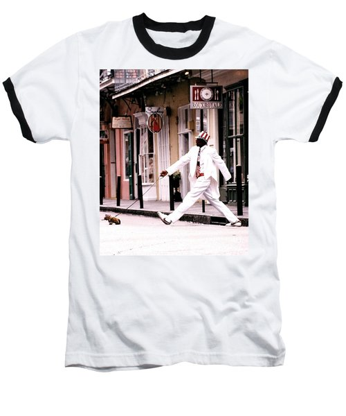 New Orleans Suspended Animation Of A Mime Baseball T-Shirt