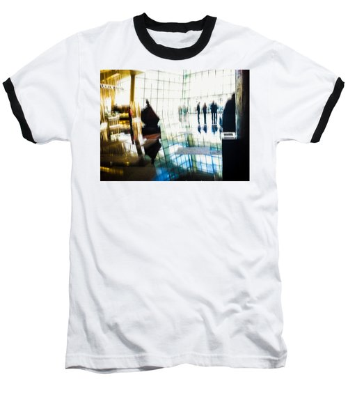 Baseball T-Shirt featuring the photograph Suspended In Light by Alex Lapidus
