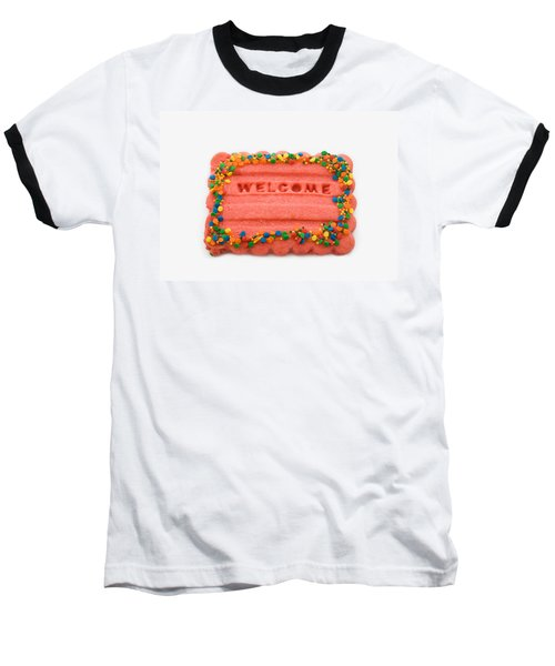 Sweet Welcome Mat Baseball T-Shirt