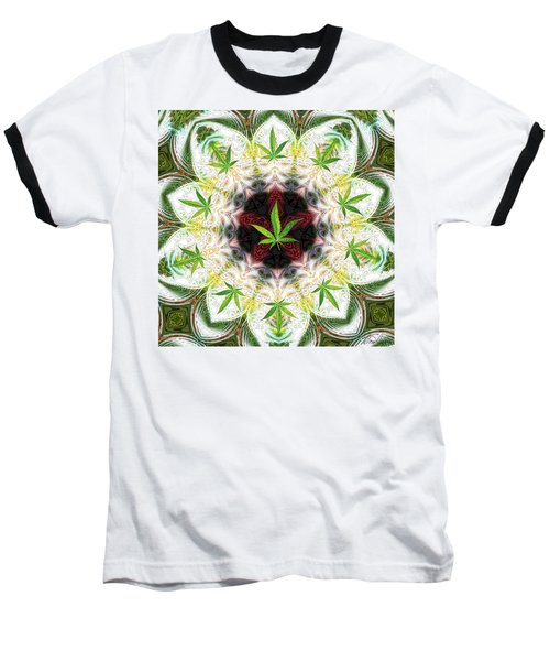 Sweetleaf Mandala Baseball T-Shirt