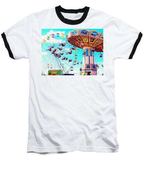 Swingers Have More Fun Baseball T-Shirt