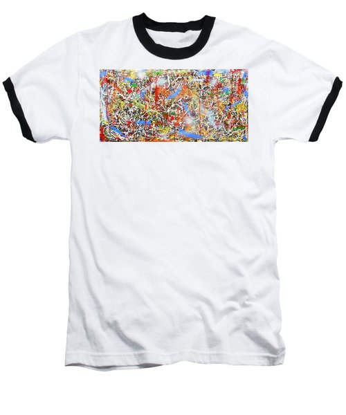 Swirls Amore Baseball T-Shirt