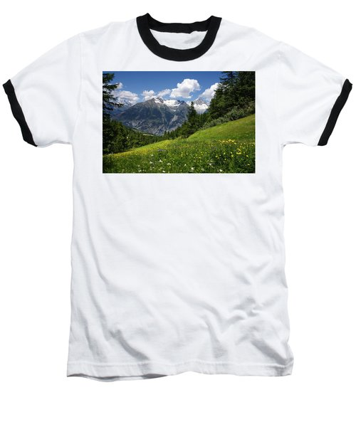 Switzerland Bietschhorn Baseball T-Shirt