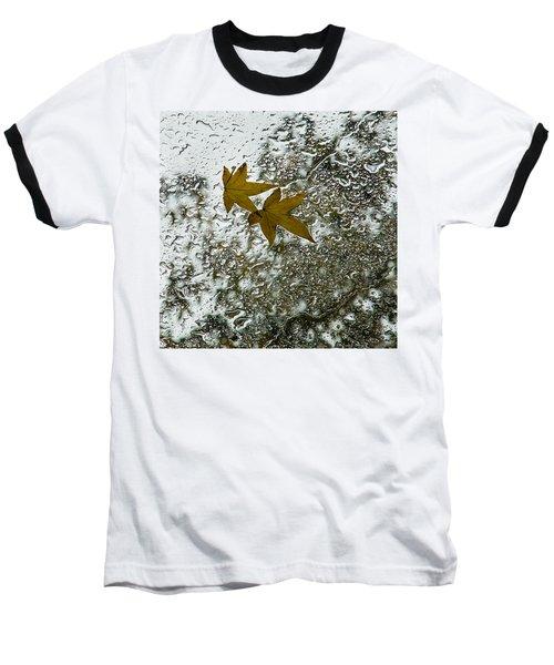 Symbols Of Autumn  Baseball T-Shirt
