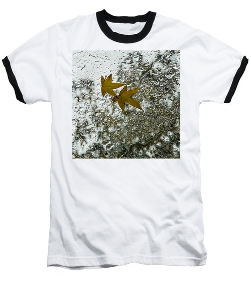 Symbols Of Autumn  Baseball T-Shirt
