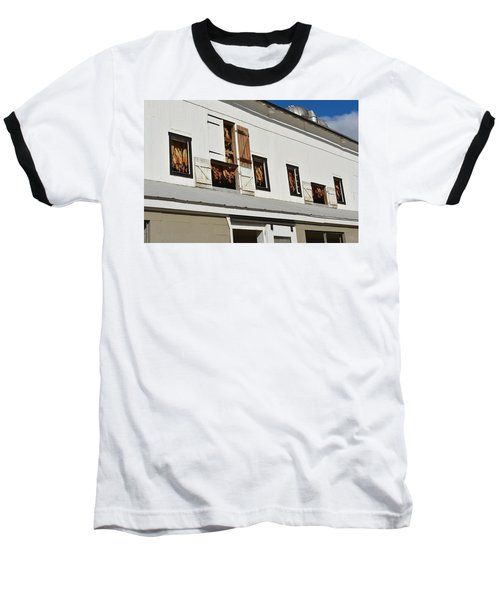 Syncopated Tobacco Barn Baseball T-Shirt