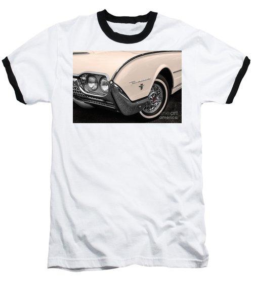 T-bird Fender Baseball T-Shirt by Jerry Fornarotto