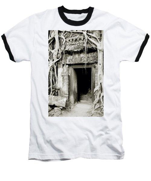 Ta Prohm Doorway Baseball T-Shirt