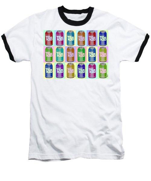 Tab Ode To Andy Warhol Repeat Horizontal Baseball T-Shirt
