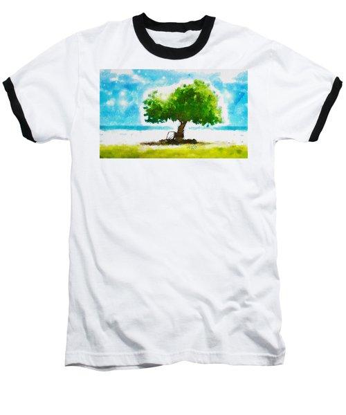 Summer Magic Baseball T-Shirt by Greg Collins