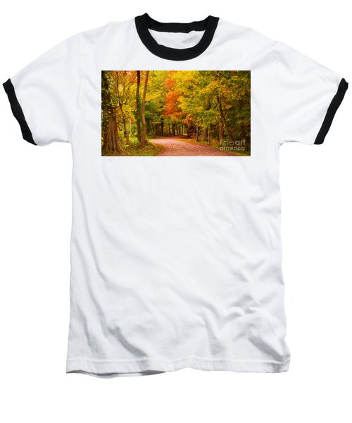 Baseball T-Shirt featuring the photograph Take Me To The Forest by Rima Biswas