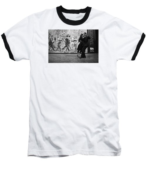 Tango Dancers In Buenos Aires Baseball T-Shirt by Venetia Featherstone-Witty