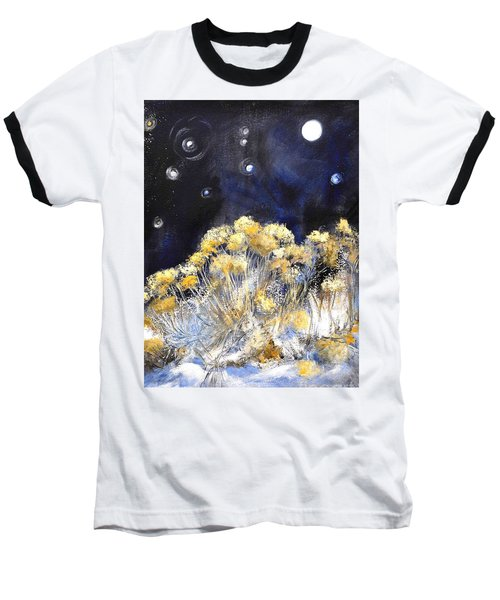 Taos Night Orbs Baseball T-Shirt