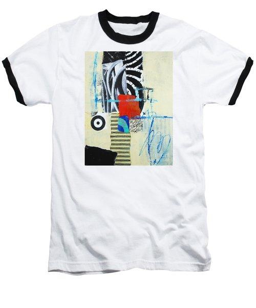 Baseball T-Shirt featuring the mixed media Target by Elena Nosyreva