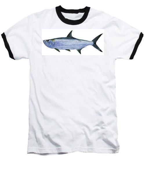 Tarpon Baseball T-Shirt by Carey Chen