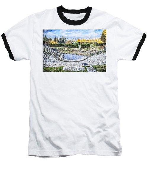Teatro Romano Fiesole Tuscany Baseball T-Shirt