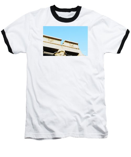 Baseball T-Shirt featuring the photograph Temple At Luxor by Cassandra Buckley