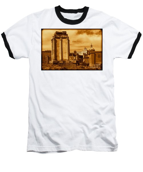 Temple Of Vesta Baseball T-Shirt
