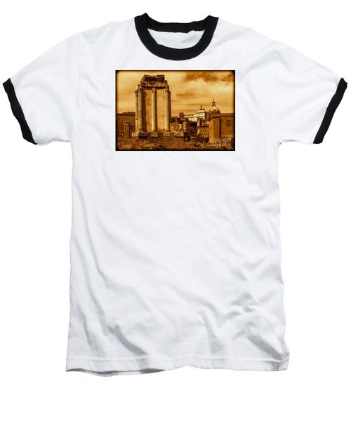 Temple Of Vesta Baseball T-Shirt