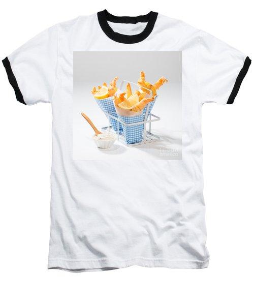 Tempura Prawns Baseball T-Shirt