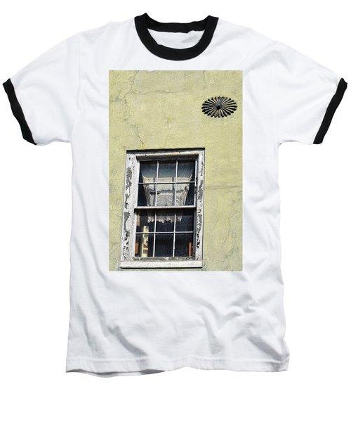 Tenement Window Baseball T-Shirt