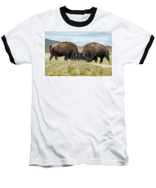 Baseball T-Shirt featuring the photograph Test Of Strength by Jack Bell