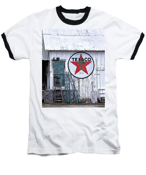 Texaco Times Past Baseball T-Shirt