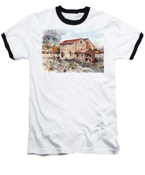 Texas Barn Baseball T-Shirt
