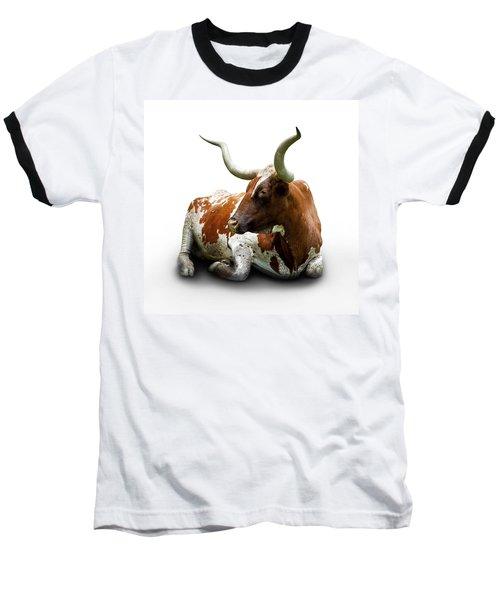 Texas Longhorn Bull Baseball T-Shirt