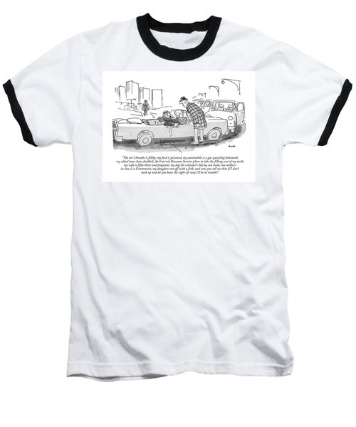 The Air I Breathe Is Filthy Baseball T-Shirt