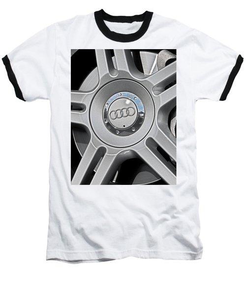 The Audi Wheel Baseball T-Shirt