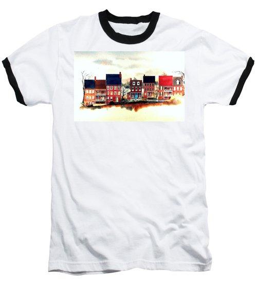 The Back Of The Strand Baseball T-Shirt